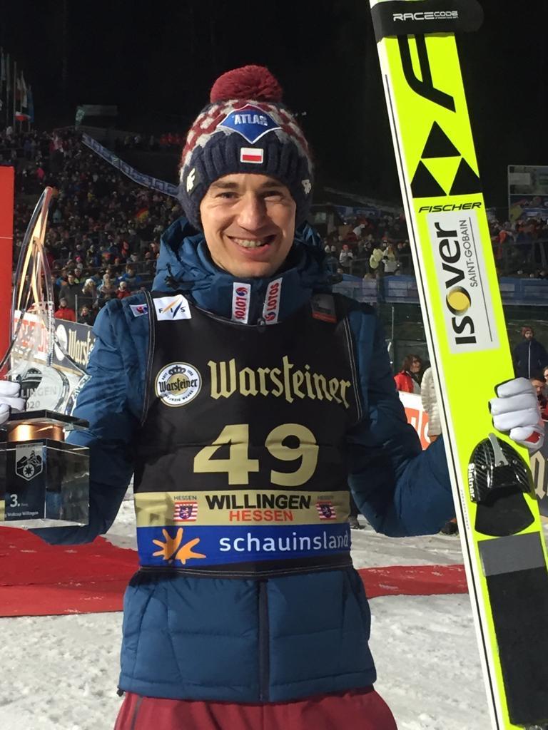 Orkantief stoppt Weltcup: Leyhe gewinnt, Kamil Stoch wird Dritter