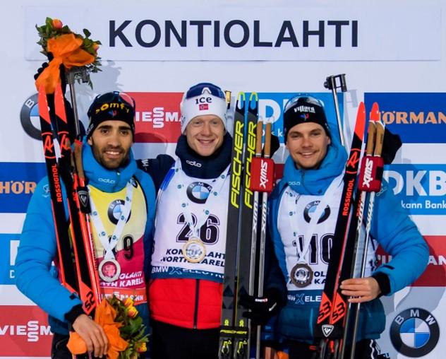 Johannes Thingnes Boe gewinnt Sprint – Martin Fourcade die kleine Kristallkugel