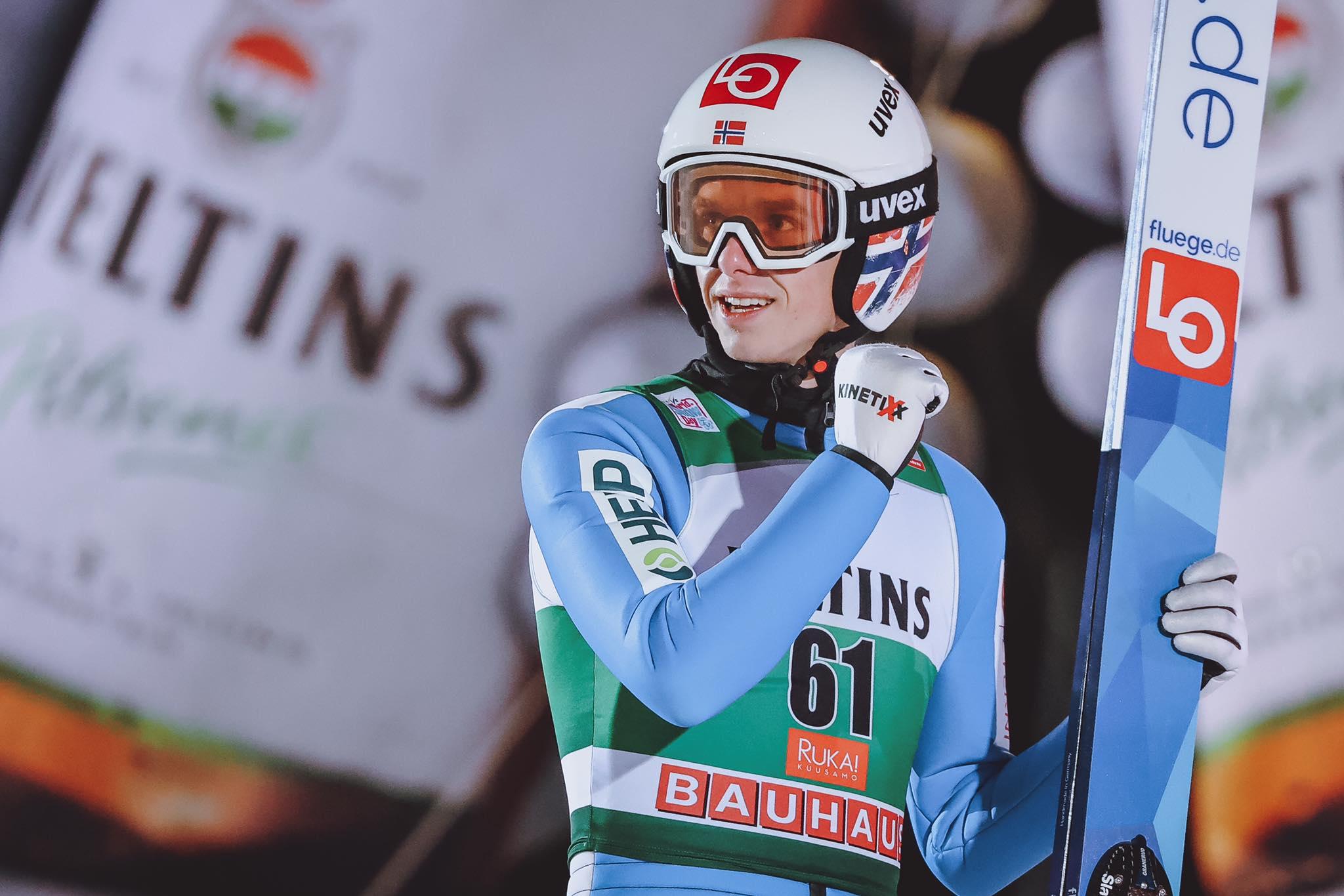 Granerud gewinnt seinen ersten Weltcup