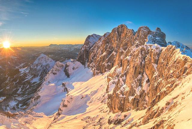 Dachstein, Gletscher, Österreich