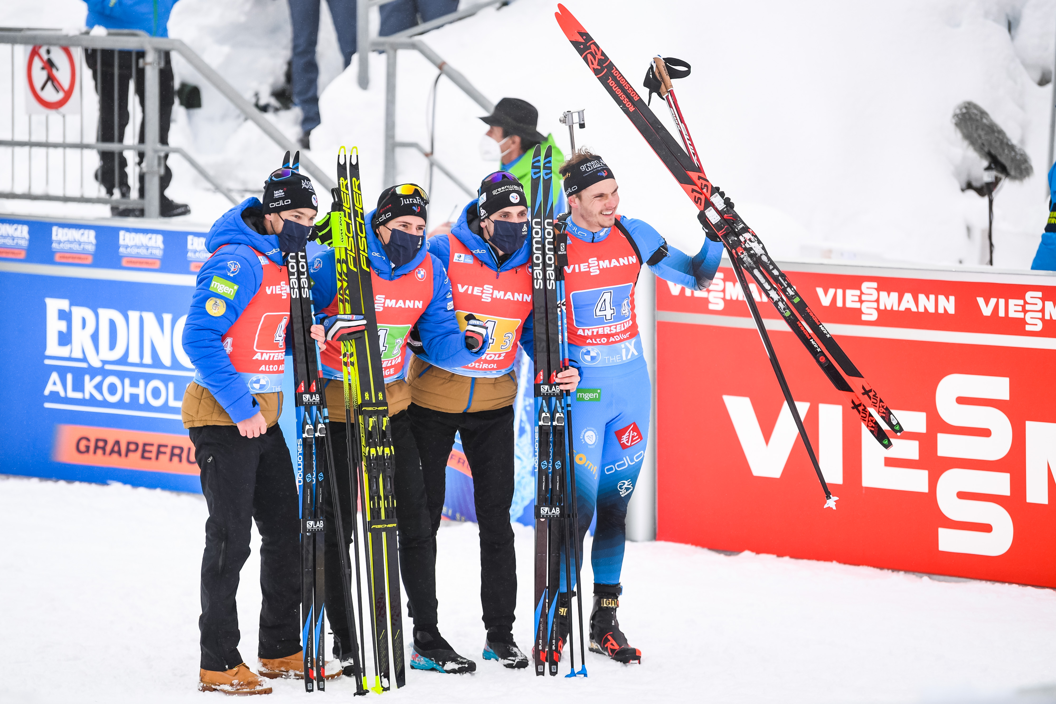 Französischer Erfolg beim Biathlon Weltcup Antholz