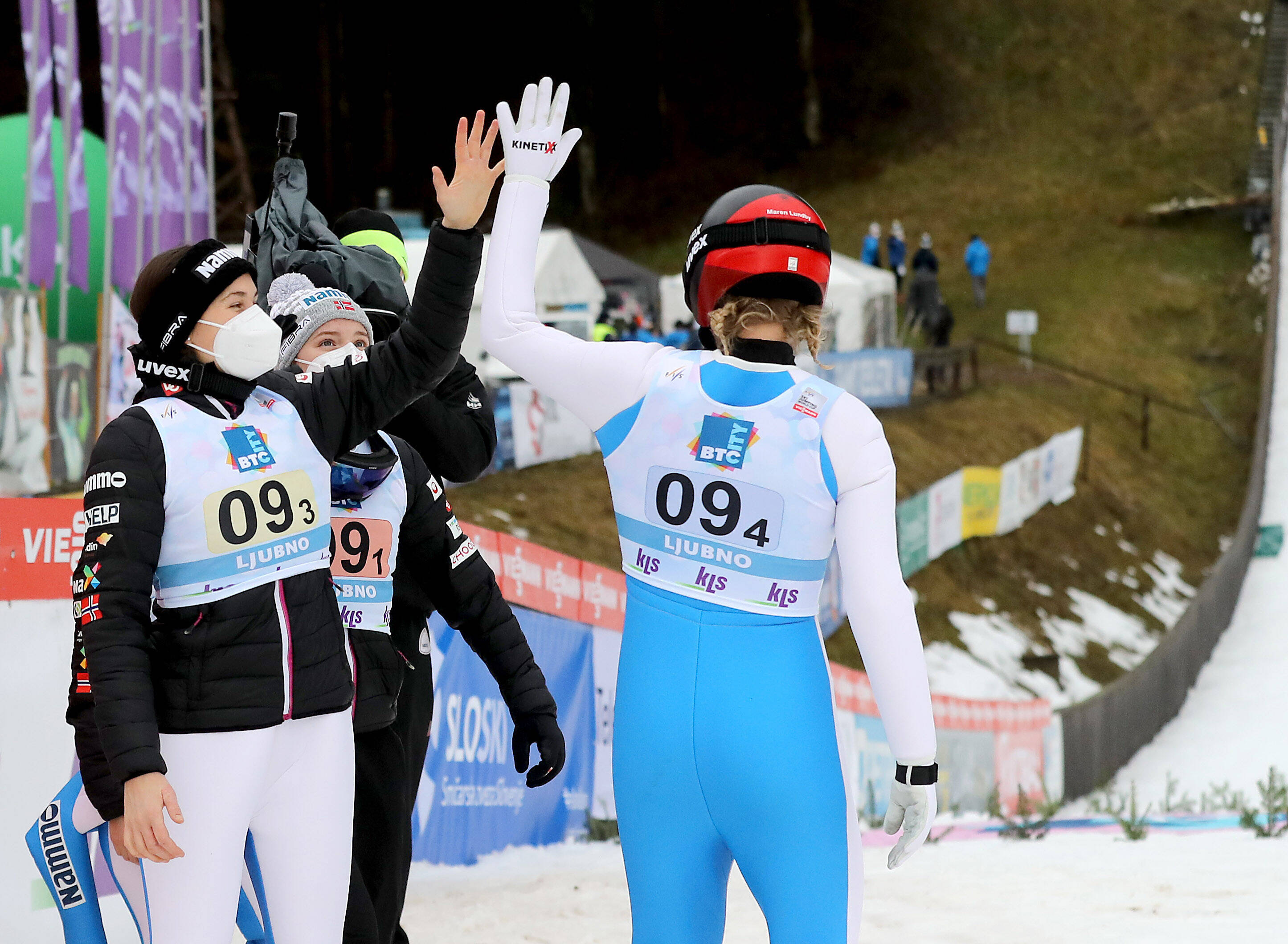 Team Skijumping in Lahti
