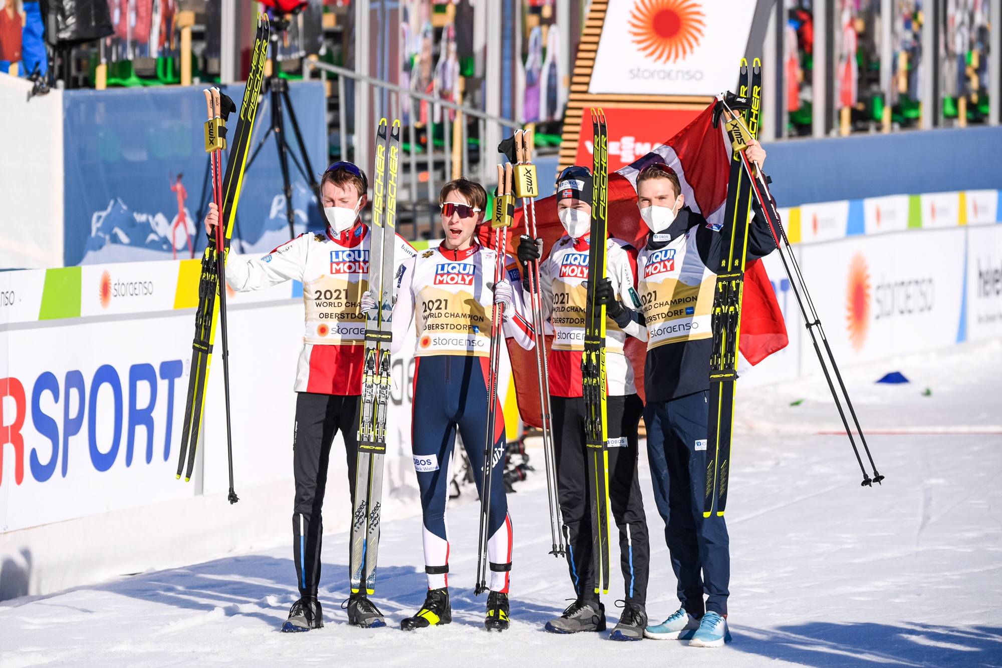 World Championship Report Oberstdorf on Sunday