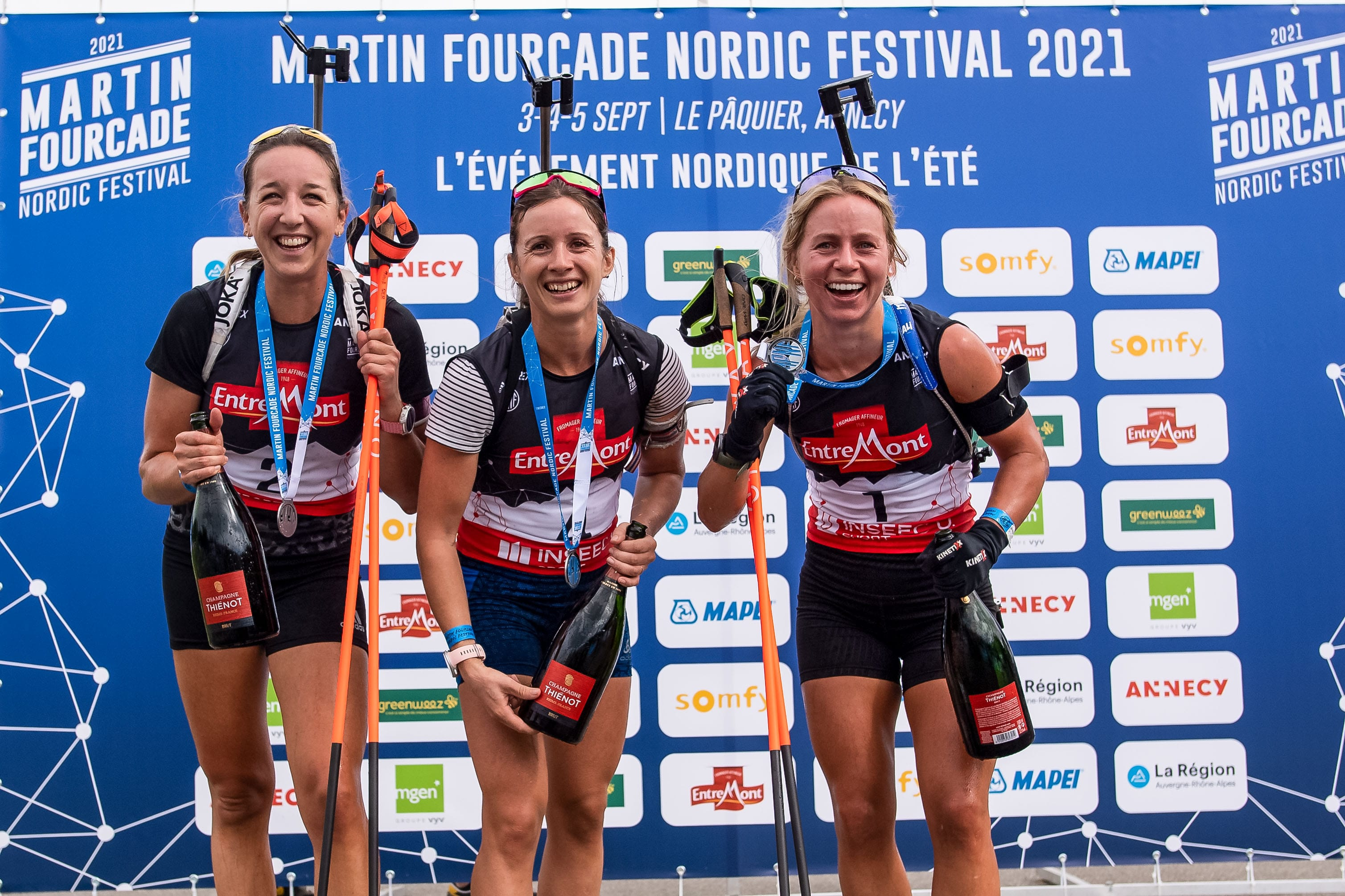 Martin Fourcade Nordic Festival 2021 in Annecy